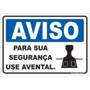Para Sua Segurança Use Avental