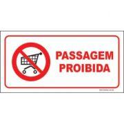 Passagem proibida