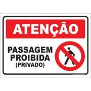 Passagem Proibida (privado)