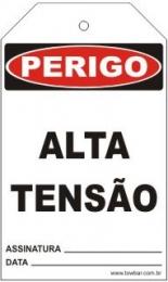 Perigo - Alta tensão