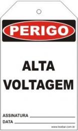 Perigo - Alta voltagem