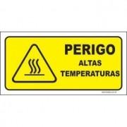 Perigo altas temperaturas