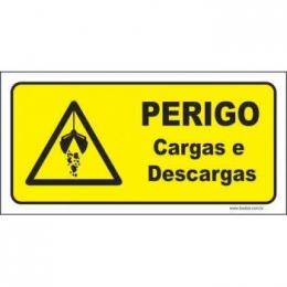 Perigo cargas e descargas