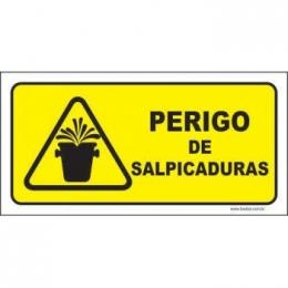 Perigo de Salpicaduras