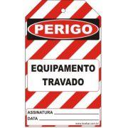 Perigo especial - equipamento travado