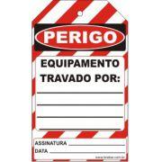 Perigo especial - equipamento travado por
