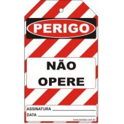 Perigo especial - não opere