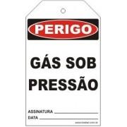 Perigo - Gás sob pressão