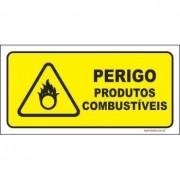 Perigo produtos combustíveis