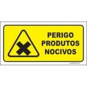 Perigo produtos nocivos