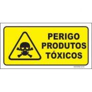 Perigo produtos tóxicos