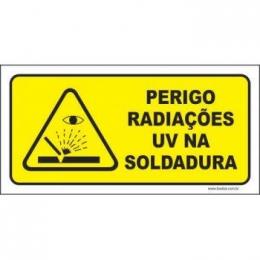 Perigo radiações uv na soldura