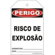 Perigo - Risco de explosão