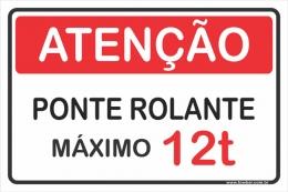 Ponte Rolante - Máximo 12 Toneladas