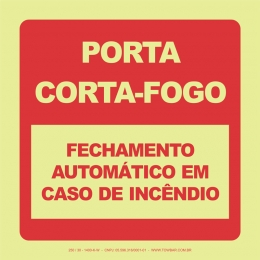 Porta Corta-Fogo - Fechamento Automático em Caso de Incêndio