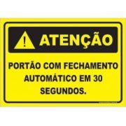 Portão Com Fechamento Automático Em 30 Segundos