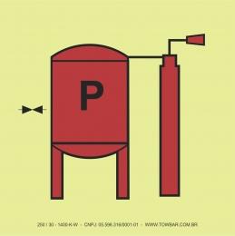 Instalação de Pó Químico (Powder Installation)