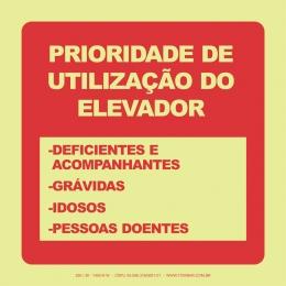 Prioridade de Utilização do Elevador