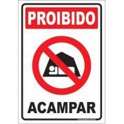 Proibido acampar