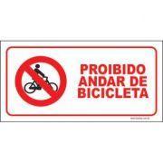 Proibido andar de bicicleta
