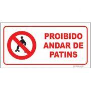 Proibido andar de patins