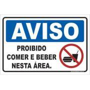 Proibido Comer e Beber Nesta Área