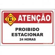 Proibido estacionar 24 horas