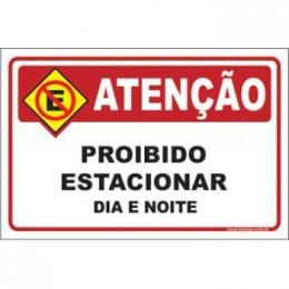 Proibido Estacionar Dia e Noite