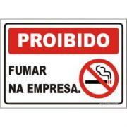 Proibido fumar na empresa