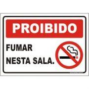 proibido fumar nesta sala