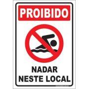 Proibido nadar neste local