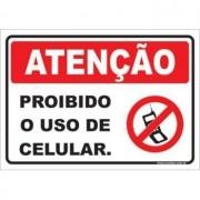 Proibido o Uso de Celular.