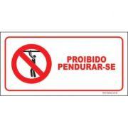 Proibido pendurar-se