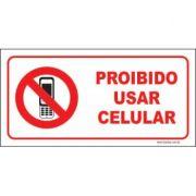 Proibido usar celular