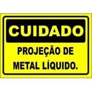 Projeção de Metal Líquido