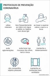 Protocolos de Prevenção Coronavírus