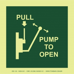 Bombear para abrir (Pump to open)