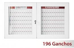 Quadro claviculário para 196 chaves