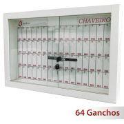 Quadro claviculário para 64 chaves