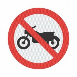 R-37 - Proibido Trânsito de Motocicletas, Motonetas e Ciclomotores