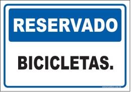 Reservado bicicletas