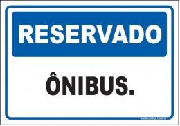 Reservado ônibus