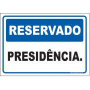 Reservado presidência