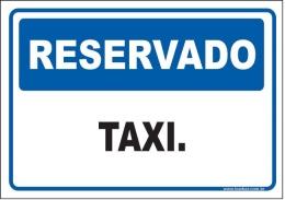 Reservado taxi