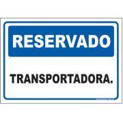 Reservado transportadora