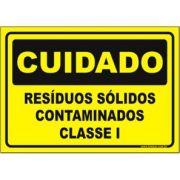 Resíduos sólidos contaminados classe I