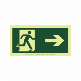 Saída a direita