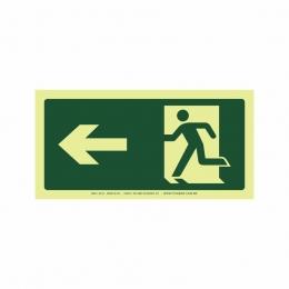 Saída a esquerda