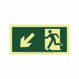 Saída a esquerda abaixo