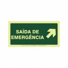 Saída de emergência a direita
